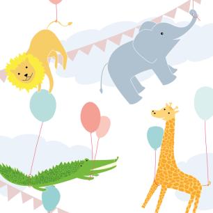 illustratie geboortekaartje